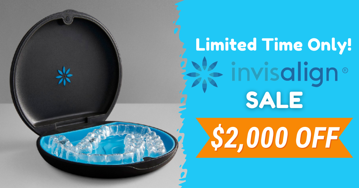 Invisalign Offer Book your free consultation right now $600 off Invisalign Book Now